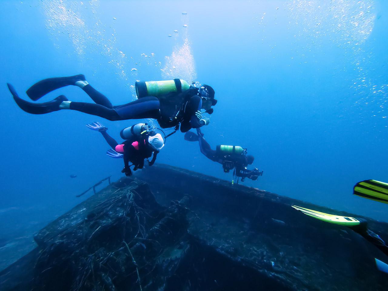 Tauchkurse vom Open Water Diver über AOWD zum Divemaster